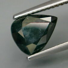 2,22 CTS EXCELENTE ZAFIRO - Natural Blue Green Normal Heated Sapphire Africa