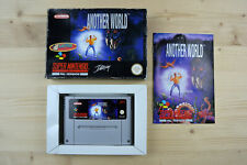 SNES-Another World - (Original packaging, with instructions)