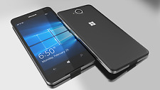 BRAND NEW MICROSOFT LUMIA 650 WINDOWS 10 4G LTE BLACK16GB UNLOCK SMART PHONE
