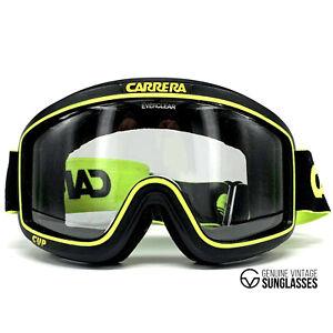 "Vintage Carrera 5046 "" Cup "" Ski Goggles - 80's Austria - Original - Black"