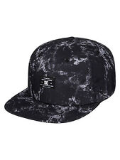 DC SHOES MENS BASEBALL CAP.NEW FILTH SNAPBACK WHITE/BLACK SKATER HAT 7S/19/KVJ1