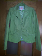 Chaqueta de Bershka talla M-L. Americana cazadora Jacke jacket Sakko verde