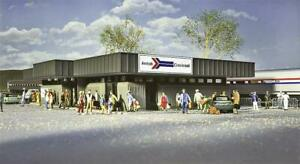 Walthers 533038 - 1/87/H0 Gare Amtrak Station - Neuf
