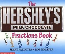 The Hershey's Milk Chocolate Bar Fractions Book Pallotta, Jerry Paperback Book N