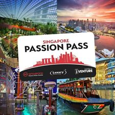 Unlimited Singapore Passion Pass - 5 Day (Adult)