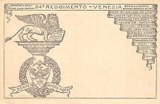195) 84 REGGIMENTO FANTERIA BRIGATA VENEZIA NELLA WW1.