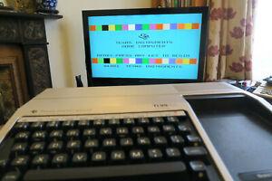 Texas Instruments Ti-99 / 4A RARE RETRO COMPUTER FULLY WORKING 1980s ti 99