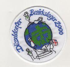 Scout de Düsseldorf Bezirkslager 2000 IN Düsseldorf Écusson à Broder