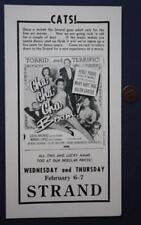 1956 Crawfordsville,Indiana Strand Theatre Latin Music Cha-Cha-Boom movie flyer!