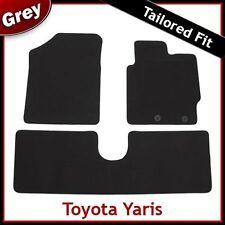 TOYOTA YARIS Mk3 / XP130 2012 onwards Tailored Carpet Car Floor Mats GREY