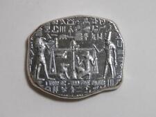 1 oz Silver Bar - Anubis Egyptian Relic - Book of the Dead - Monarch Metals MPM