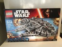 LEGO Star Wars Millennium Falcon 75105 New Retired! Sealed Mint Box Never Opened