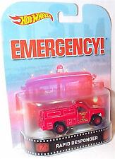 Emergency! Rapid Responder  1-64 Scale new in packet Hot wheels CFR12