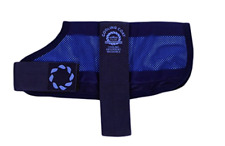 Animate Water Activated Cooling Dog Coat Navy - XS - XXL