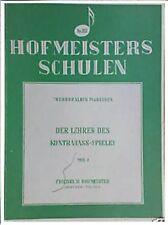 Le professeur de Contrebasse Volume 1 / Der Lehrer des Kontrabass-Spieles Teil 1
