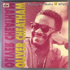 Oliver Cheatham - Things To Make U Happy - RCA 74321 10222-1 Ex Condition