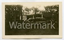 1930s snapshot photo Lake Geneva Wisconsin #2 Home