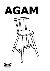 IKEA AGAM Baby Chair (New in packaging)