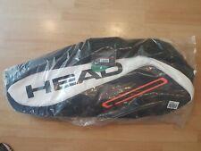 HEAD Tour Team 12R Monstercombi Tennis Bag - Black/White (283957) *BRAND NEW*