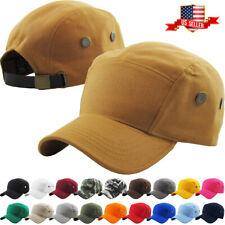 Army 5 Panel Military Patrol Cap Hat Men Women Golf Driving Summer Baseball NEW
