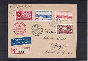 Reco Flugpost mit Sonderstempel ECHT gelaufen 1939 nach Graz