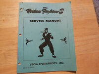 VIRTUA FIGHTER 2 sega VIDEO GAME   owners manual