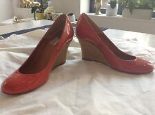 Lanvin Patent Leather Wedge Espadrille SIZE 36