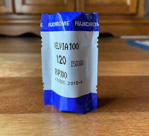 Fujifilm Velvia 100 120 Medium Format Slide Film Expired Recently
