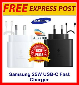 Genuine Samsung EP-TA800 25W Super Fast Wall Charger for Note20 / S21 ULTRA