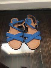 Novo Blue Sandals Size 9 / 40 RRP $59.99