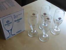 4x Herforder Pils Eksklusiv-Pokale 0,2l + 2x Haake Beck 0,2l Bier Gläser Glas