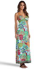 NWT $198 Sz M Trina Turk Zanzibar Maxi Dress Swim Cover