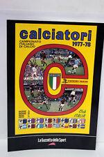 REPLICA ALBUM CALCIATORI CAMPIONATO ITALIANO DI CALCIO 1977-78 ED GAZZETTA 66269