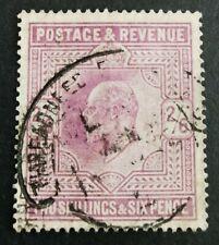 GB KEVII 1911-13 2s6d dull reddish purple. Fine used. SG316. Cat £180.