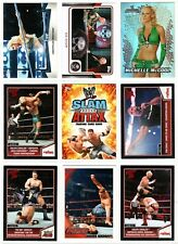 Big WWE Wrestling Card Lot - 94 cards, some inserts, stars, more