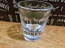 Jack Daniel's Tennessee Honey Shot Glass Faceted Glass Italian Barware