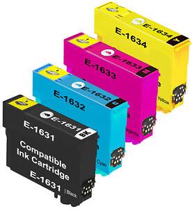 Compatible 16XL Ink Cartridges For Epson WF2010 WF2510 WF2530 WF2540 WF2660