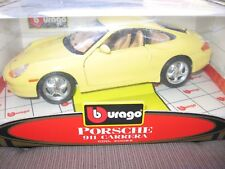 Porsche 911 Carrera BBURAGO 1:18 YELLOW Special Collection NEU / MINT!