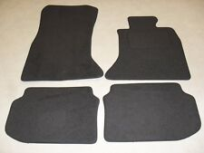 BMW 5 Series F10-F11 2010-on Fully Tailored Deluxe Car Mats in Grey - Grey Trim