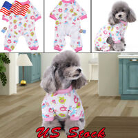 Dog Clothing Sleepwear Cotton Dog Pajamas Pet Puppy Soft Warm Cozy Mono Mamluk