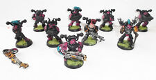 Warhammer 40K Chaos Space Marines - Emperor's Children Squad lot of 9