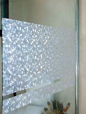 Fensterfolie Pebbles 46 cm hoch - statische Dekorfolie Linea Fix® Meterware