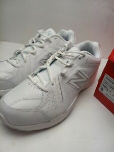 Mens New Balance 608 Shoes White Sz 10.5 D NEW Damaged Lace Loop See Pic e1