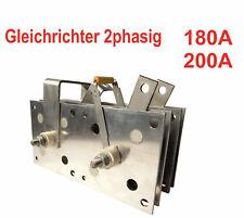 Gleichrichter 180Α - 200A / 220V MIG MAG Schweißgerät - Schutzgas Schweißen