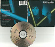 Thin Lizzy GARY MOORE Friday on my Mind 2 LIVE 2 RARE MIXES CD single USA Seller