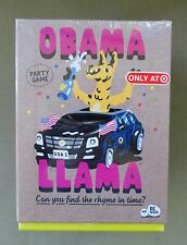 New Obama Llama Party Game Target Exclusive Can You Find the Rhyme in Time