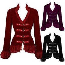 Hearts and Roses London Velvet Victorian Vintage Riding Dressage Tailcoat Jacket