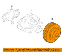FORD OEM Water Pump-Pulley XW4Z8509AA