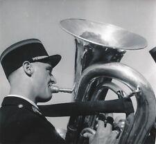 COËTQUIDAN c. 1952 - Garde Républicaine Fanfare Tuba Morbihan - NV 473