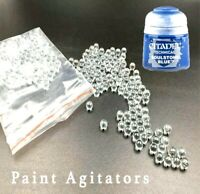 50x Glass Paint Agitators FREE 1ST CLASS POST citadel army vallejo mixing ball